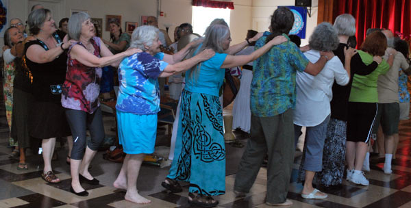 2011 dance retreat with Lila Flood & Allaudin Ottinger in Ocala, Florida