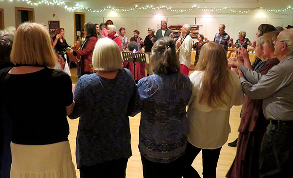 New Year's Eve Global Peace Dance, December 31st 2017 at United Church of Gainesville