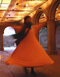 Habiba whirling dervish