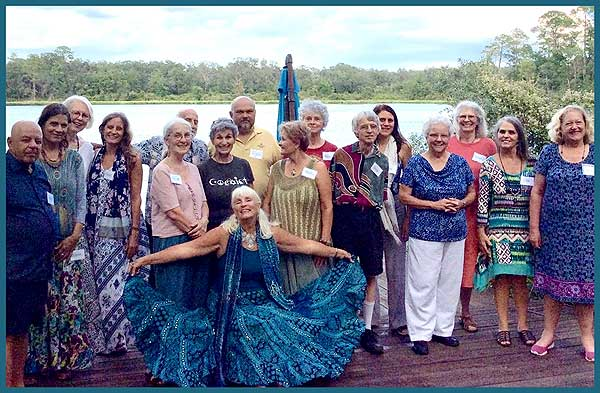 September 2019 Dance at Peacock Paradise ~ seems so long ago We hope to dance here again on 4th Saturdays starting in the fall  Saturday, October 23, 2021